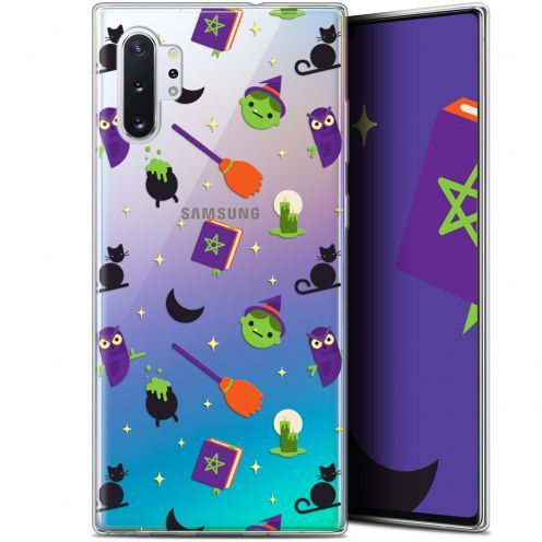 "Carcasa Gel Extra Fina Samsung Galaxy Note 10+ / Plus (6.8"") Halloween Witch Potter"