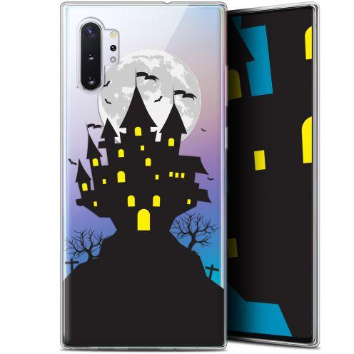 "Carcasa Gel Extra Fina Samsung Galaxy Note 10+ / Plus (6.8"") Halloween Castle Scream"