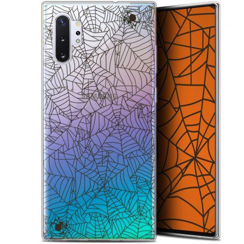 "Carcasa Gel Extra Fina Samsung Galaxy Note 10+ / Plus (6.8"") Halloween Spooky Spider"