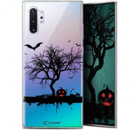 "Carcasa Gel Extra Fina Samsung Galaxy Note 10+ / Plus (6.8"") Halloween Devil's Tree"