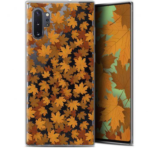 "Carcasa Gel Extra Fina Samsung Galaxy Note 10+ / Plus (6.8"") Autumn 16 Feuilles"