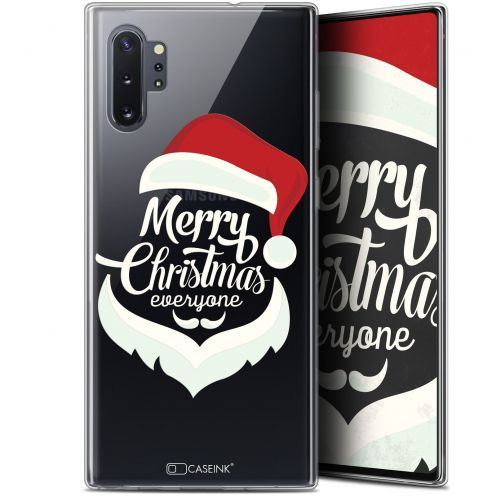 "Carcasa Gel Extra Fina Samsung Galaxy Note 10+ / Plus (6.8"") Noël 2017 Merry Everyone"