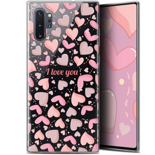 "Carcasa Gel Extra Fina Samsung Galaxy Note 10+ / Plus (6.8"") Love I Love You"