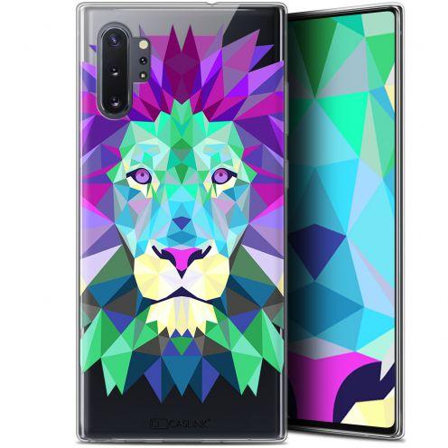 "Carcasa Gel Extra Fina Samsung Galaxy Note 10+ / Plus (6.8"") Polygon Animals León"