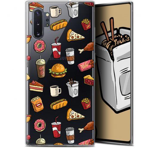 "Carcasa Gel Extra Fina Samsung Galaxy Note 10+ / Plus (6.8"") Foodie Fast Food"
