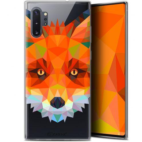 "Carcasa Gel Extra Fina Samsung Galaxy Note 10+ / Plus (6.8"") Polygon Animals Zorro"