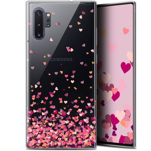 "Carcasa Gel Extra Fina Samsung Galaxy Note 10+ / Plus (6.8"") Sweetie Heart Flakes"