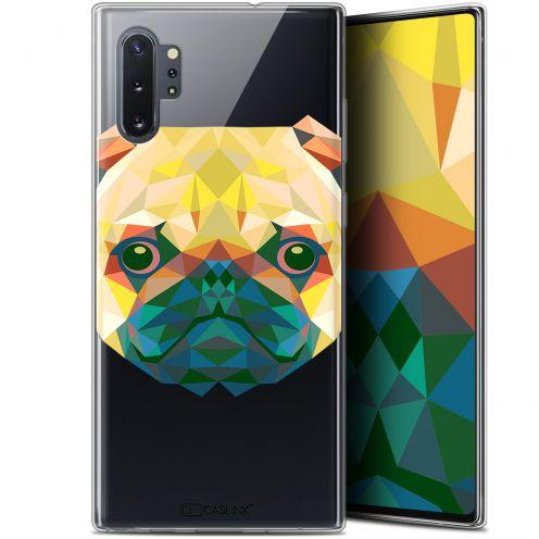 "Carcasa Gel Extra Fina Samsung Galaxy Note 10+ / Plus (6.8"") Polygon Animals Perro"