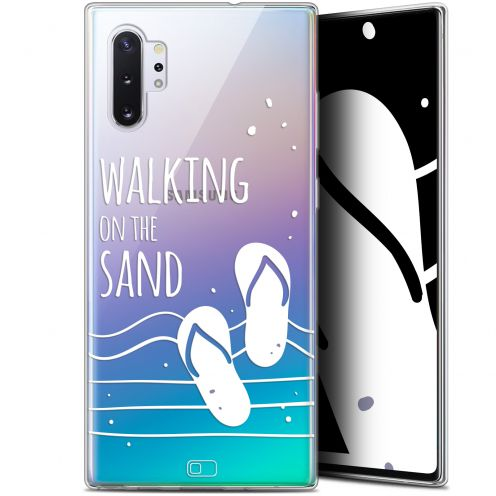 "Carcasa Gel Extra Fina Samsung Galaxy Note 10+ / Plus (6.8"") Summer Walking on the Sand"