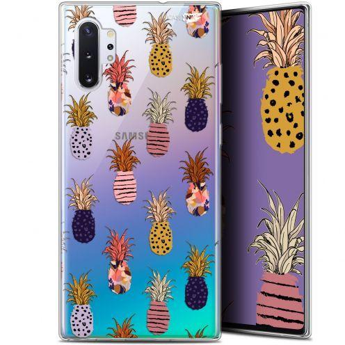"Carcasa Gel Extra Fina Samsung Galaxy Note 10+ / Plus (6.8"") Design Ananas Gold"
