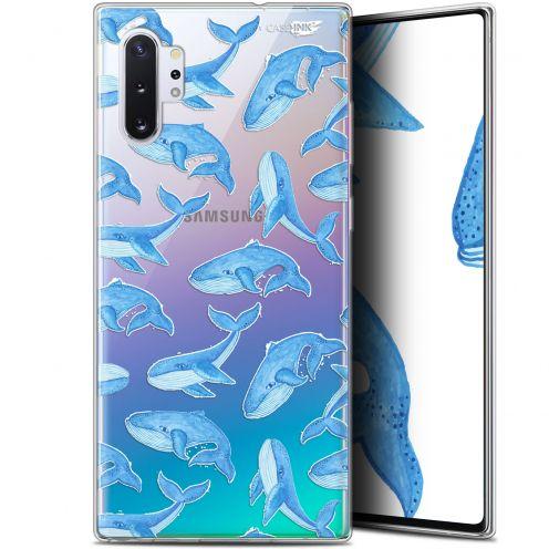 "Carcasa Gel Extra Fina Samsung Galaxy Note 10+ / Plus (6.8"") Design Baleines"