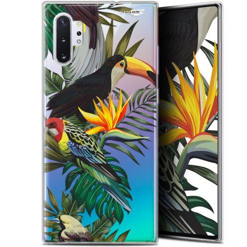 """Carcasa Gel Extra Fina Samsung Galaxy Note 10+ / Plus (6.8"""") Design Toucan Tropical"""