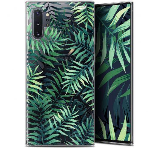 "Carcasa Gel Extra Fina Samsung Galaxy Note 10+ / Plus (6.8"") Design Feuilles des Tropiques"