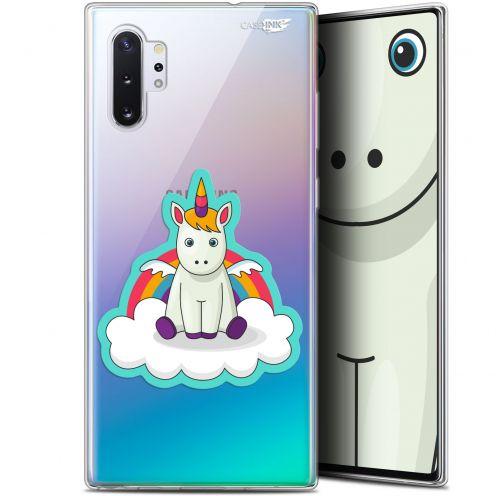 "Carcasa Gel Extra Fina Samsung Galaxy Note 10+ / Plus (6.8"") Design Bébé Licorne"