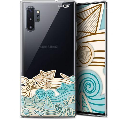 "Carcasa Gel Extra Fina Samsung Galaxy Note 10+ / Plus (6.8"") Design Bateau de Papier"