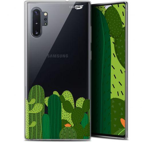 "Carcasa Gel Extra Fina Samsung Galaxy Note 10+ / Plus (6.8"") Design Cactus"