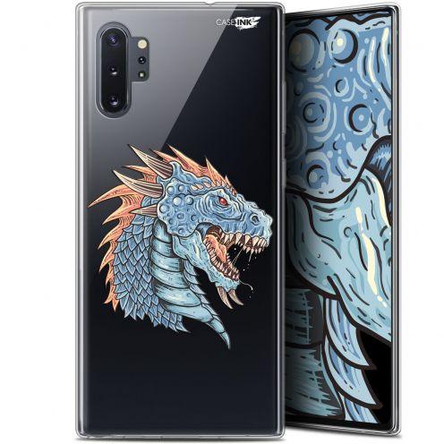 """Carcasa Gel Extra Fina Samsung Galaxy Note 10+ / Plus (6.8"""") Design Dragon Draw"""
