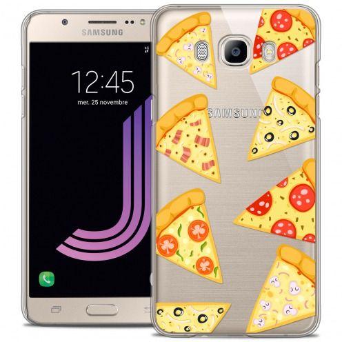 Carcasa Crystal Extra Fina Galaxy J7 2016 (J710) Foodie Pizza