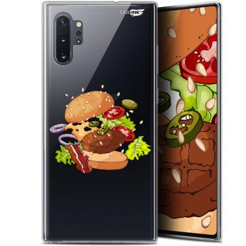"Carcasa Gel Extra Fina Samsung Galaxy Note 10+ / Plus (6.8"") Design Splash Burger"