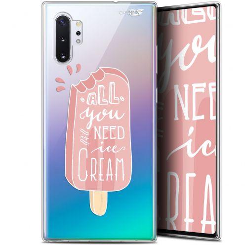 "Carcasa Gel Extra Fina Samsung Galaxy Note 10+ / Plus (6.8"") Design Ice Cream"