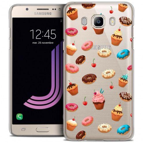 Carcasa Crystal Extra Fina Galaxy J7 2016 (J710) Foodie Donuts