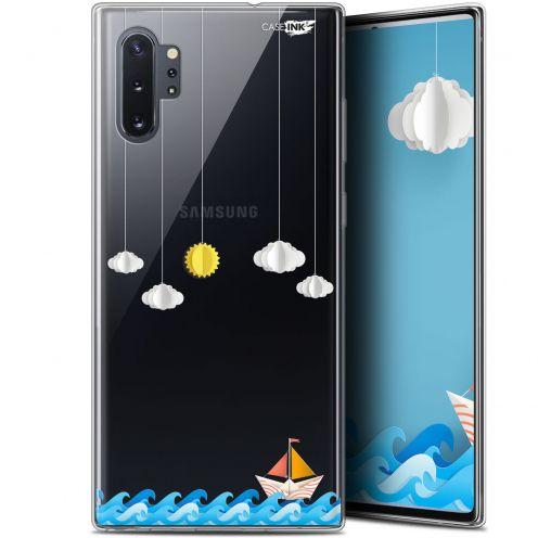"Carcasa Gel Extra Fina Samsung Galaxy Note 10+ / Plus (6.8"") Design Petit Bateau en Mer"