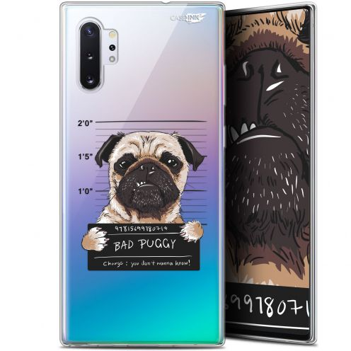 "Carcasa Gel Extra Fina Samsung Galaxy Note 10+ / Plus (6.8"") Design Beware The Puggy Dog"
