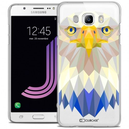 Carcasa Crystal Extra Fina Galaxy J7 2016 (J710) Polygon Animals Águila
