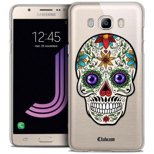Carcasa Crystal Extra Fina Galaxy J7 2016 (J710) Skull Maria's Flower