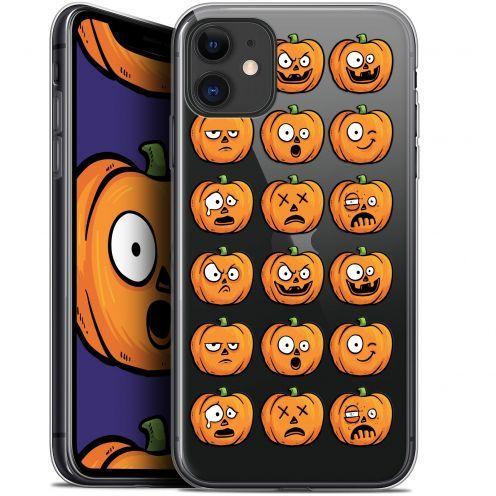 "Carcasa Gel Extra Fina Apple iPhone 11 (6.1"") Halloween Cartoon Citrouille"