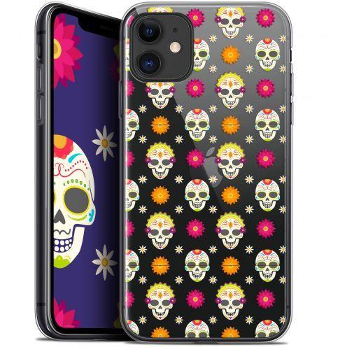 """Carcasa Gel Extra Fina Apple iPhone 11 (6.1"""") Halloween Skull Halloween"""