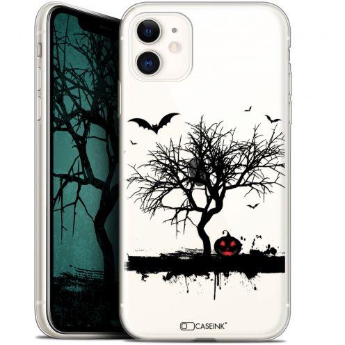 "Carcasa Gel Extra Fina Apple iPhone 11 (6.1"") Halloween Devil's Tree"