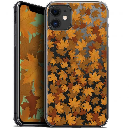 "Carcasa Gel Extra Fina Apple iPhone 11 (6.1"") Autumn 16 Feuilles"