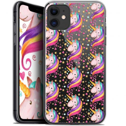 "Carcasa Gel Extra Fina Apple iPhone 11 (6.1"") Fantasia Licorne Etoilée"