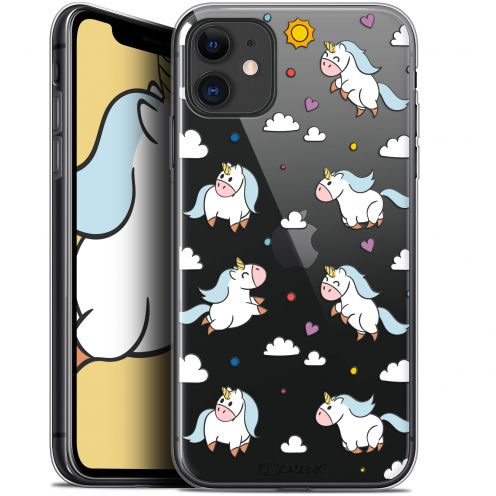 "Carcasa Gel Extra Fina Apple iPhone 11 (6.1"") Fantasia Licorne In the Sky"