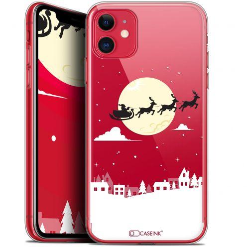 "Carcasa Gel Extra Fina Apple iPhone 11 (6.1"") Noël 2017 Flying Stanta"