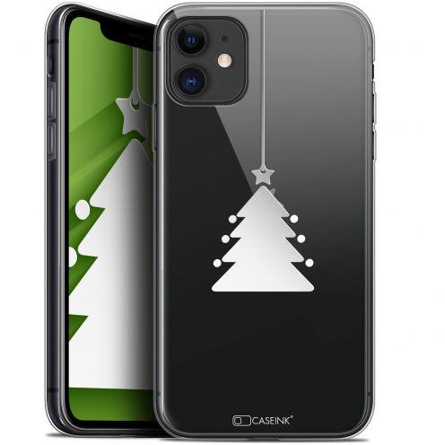 "Carcasa Gel Extra Fina Apple iPhone 11 (6.1"") Noël 2017 Petit Arbre"