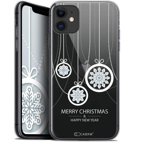 "Carcasa Gel Extra Fina Apple iPhone 11 (6.1"") Noël 2017 Christmas Balls"