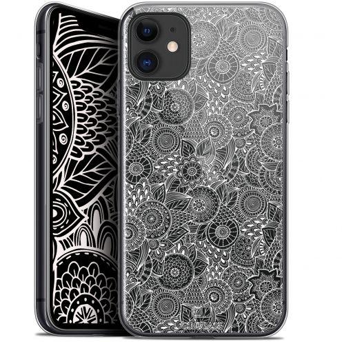 "Carcasa Gel Extra Fina Apple iPhone 11 (6.1"") Dentelle Florale Blanc"