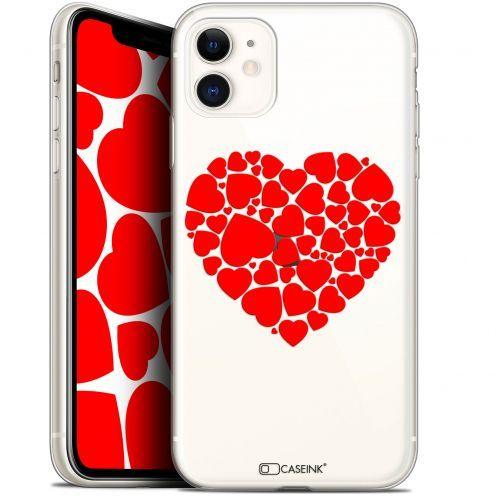 "Carcasa Gel Extra Fina Apple iPhone 11 (6.1"") Love Coeur des Coeurs"