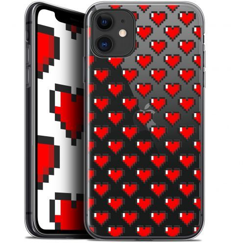 "Carcasa Gel Extra Fina Apple iPhone 11 (6.1"") Love Pixel Art"
