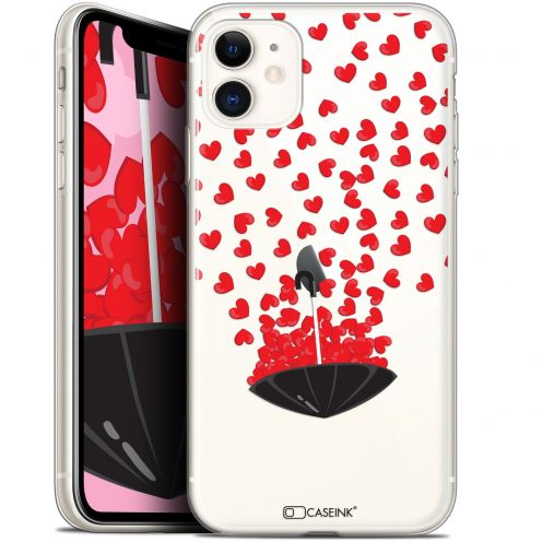 "Carcasa Gel Extra Fina Apple iPhone 11 (6.1"") Love Parapluie d'Amour"