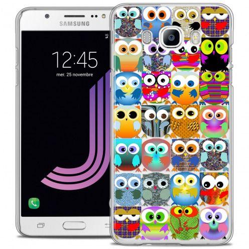 Carcasa Crystal Rigide Extra Fina Samsung Galaxy J7 2016 (J710) Claude Hibous