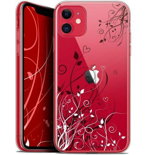 "Carcasa Gel Extra Fina Apple iPhone 11 (6.1"") Love Hearts Flowers"