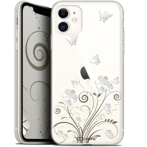 "Carcasa Gel Extra Fina Apple iPhone 11 (6.1"") Summer Papillons"