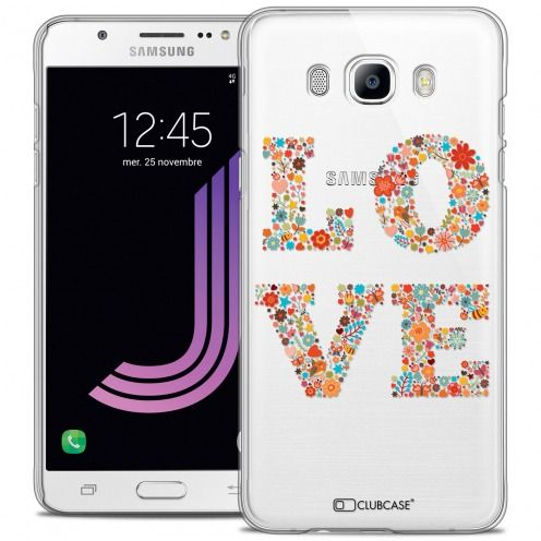 Carcasa Crystal Rigide Extra Fina Samsung Galaxy J7 2016 (J710) Summer Love Flowers