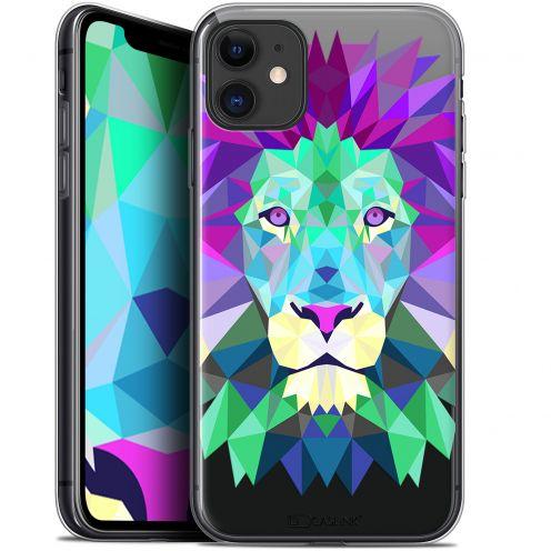 "Carcasa Gel Extra Fina Apple iPhone 11 (6.1"") Polygon Animals León"