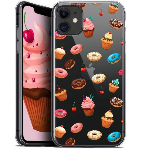 "Carcasa Gel Extra Fina Apple iPhone 11 (6.1"") Foodie Donuts"