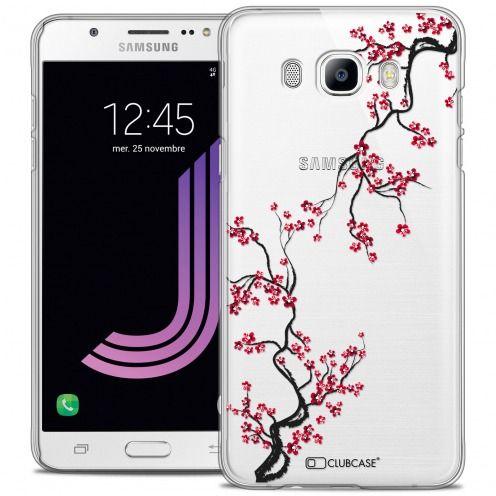 Carcasa Crystal Rigide Extra Fina Samsung Galaxy J7 2016 (J710) Summer Sakura