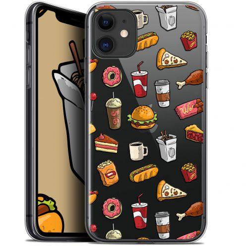 "Carcasa Gel Extra Fina Apple iPhone 11 (6.1"") Foodie Fast Food"
